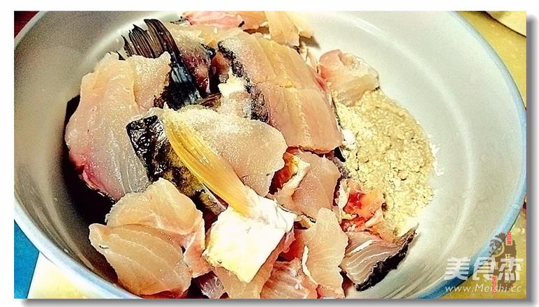 一鱼两吃之 酸菜鱼的简单做法