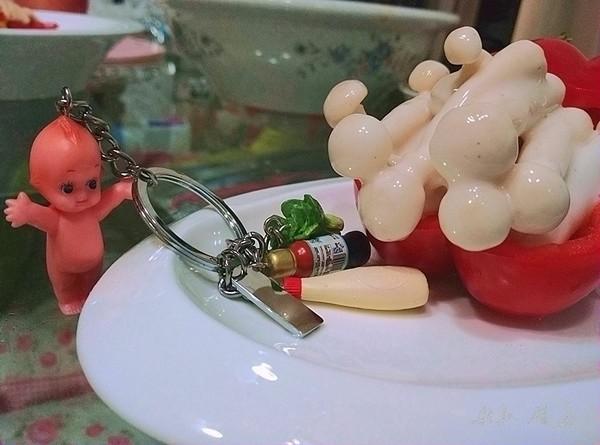 沙拉菇头丘比沙拉汁成品图