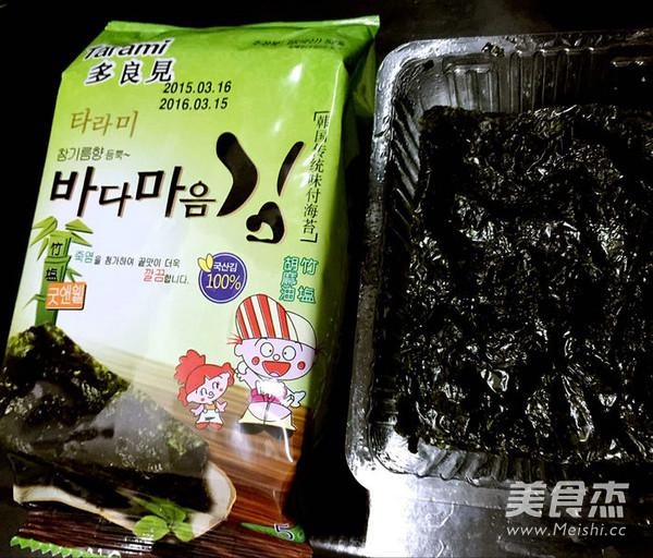 海苔培根金针菇卷怎么吃