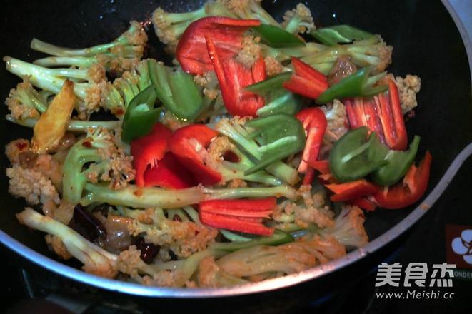 干锅菜花怎么煮