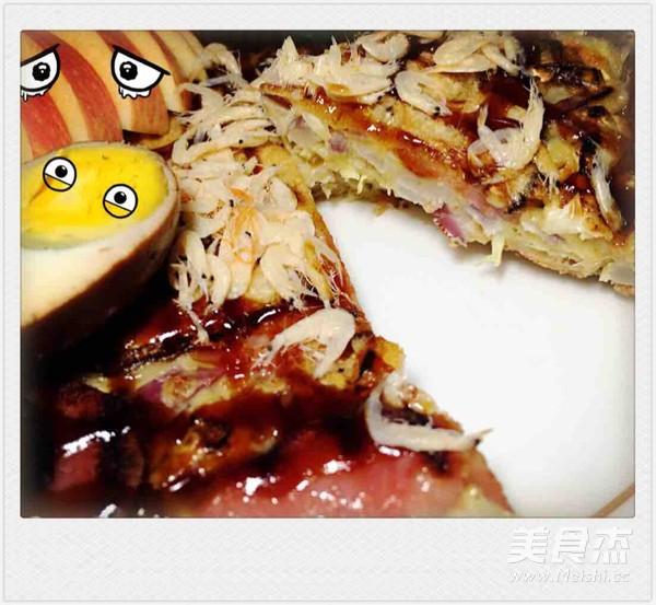 大阪烧披萨——自娱自乐怎样煮