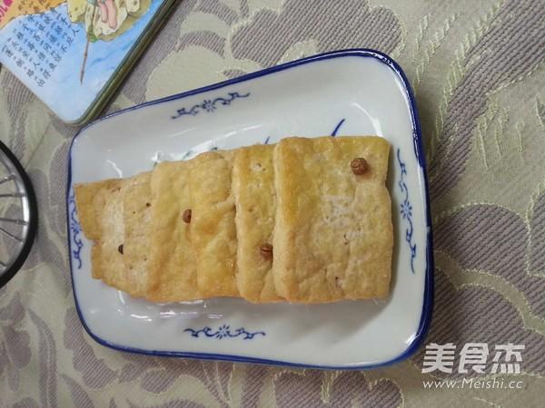 腌炸豆腐——拌粥小菜成品图