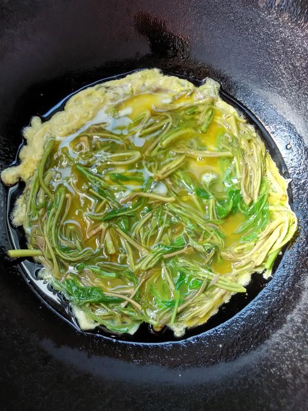 香椿芽炒鸡蛋怎么做