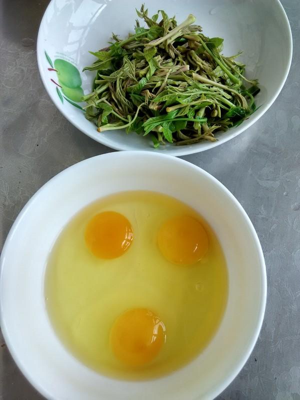 香椿芽炒鸡蛋的简单做法