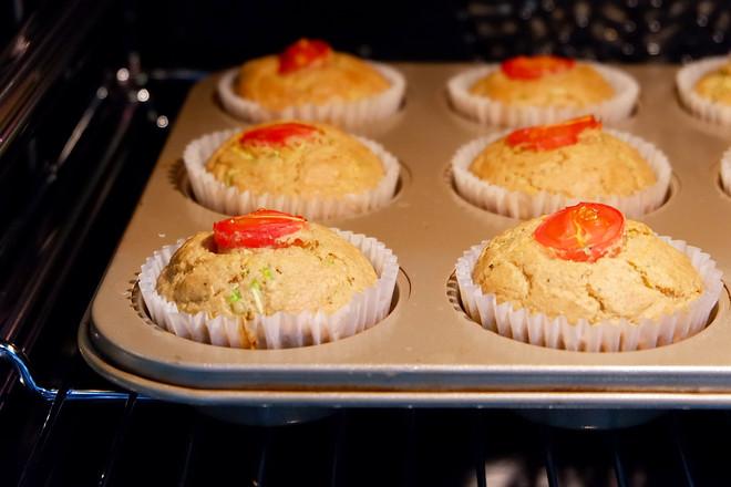 全麦番茄西葫芦咸蛋糕怎么煸