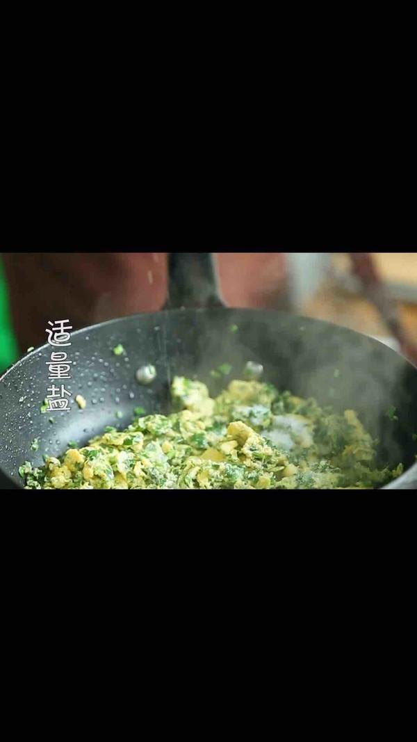 韭菜炒鸡蛋的家常做法