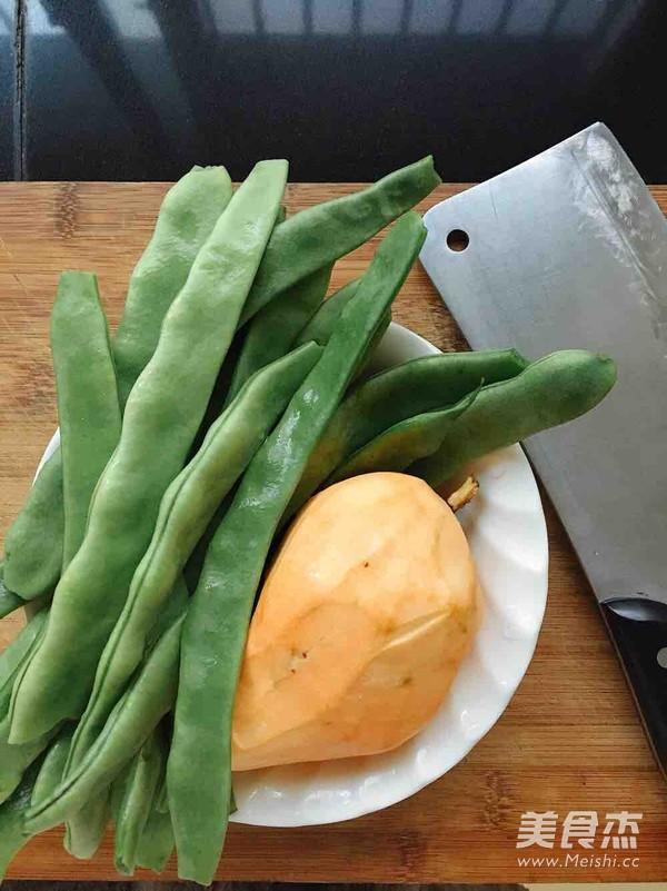 红薯鸡肉刀豆焖饭的做法大全