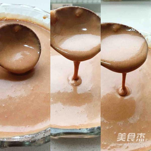 巧克力橙皮华夫饼怎么炒
