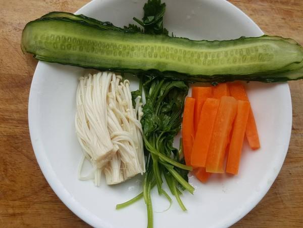 果蔬拼盘的简单做法