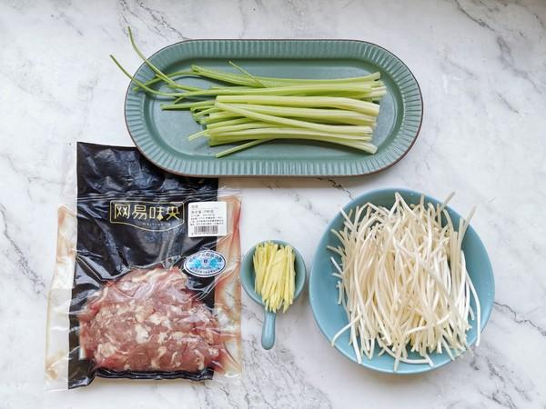 芹菜豆芽炒肉丝的做法大全