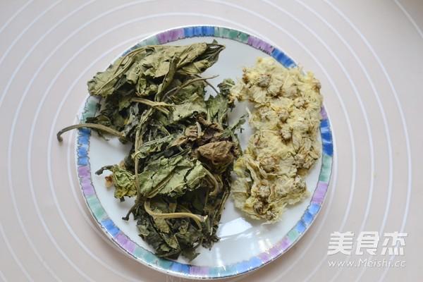 桑菊茶的做法图解