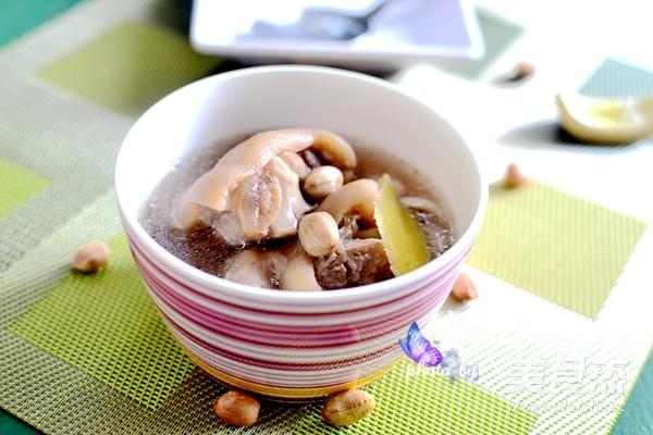 猪蹄花生汤怎么做