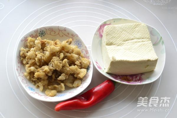 猪油渣烧豆腐的做法大全