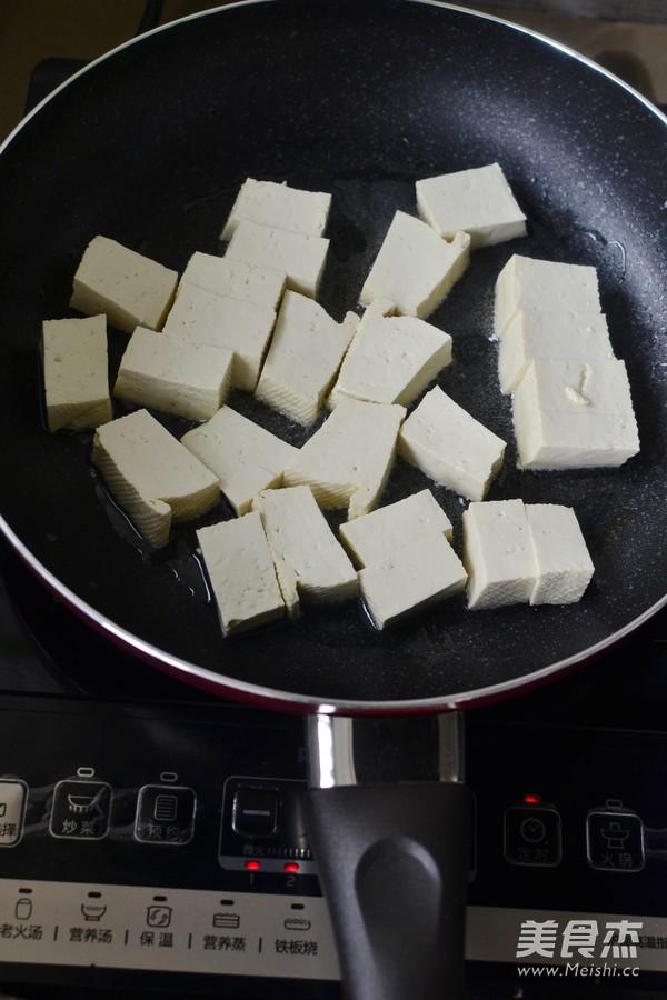 猪油渣烧豆腐的做法图解