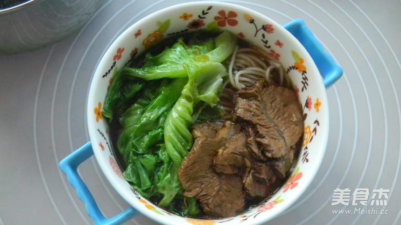 滋味牛肉米线怎么煮