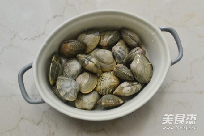 葱油花蛤的家常做法