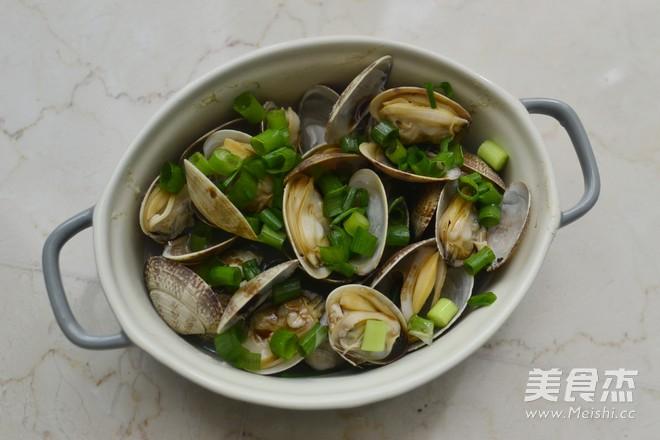 葱油花蛤怎么炒