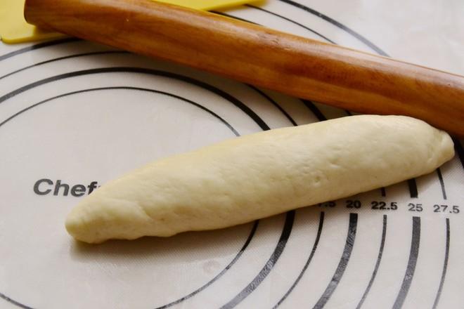 香葱肉松面包的步骤