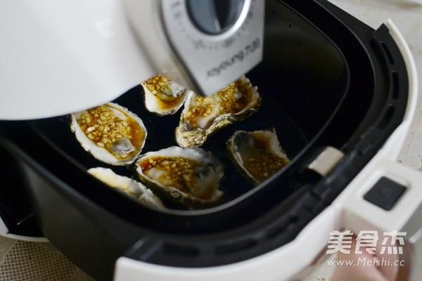 蒜香烤生蚝怎么做