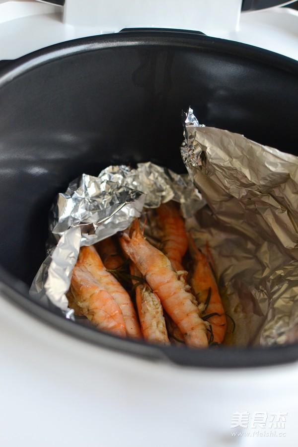 迷迭香盐焗虾怎么做