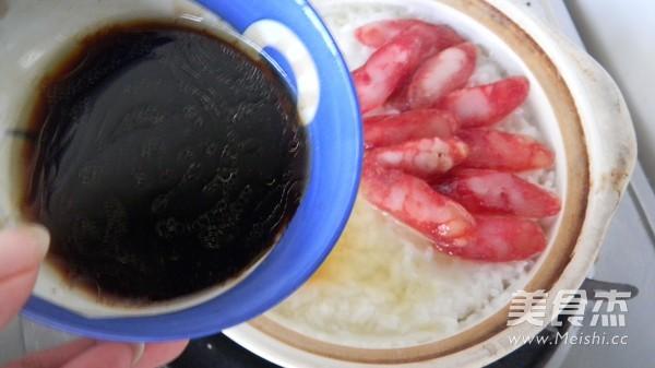 腊味煲仔饭的简单做法