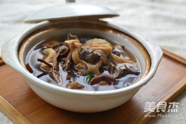 菌菇汤怎么吃