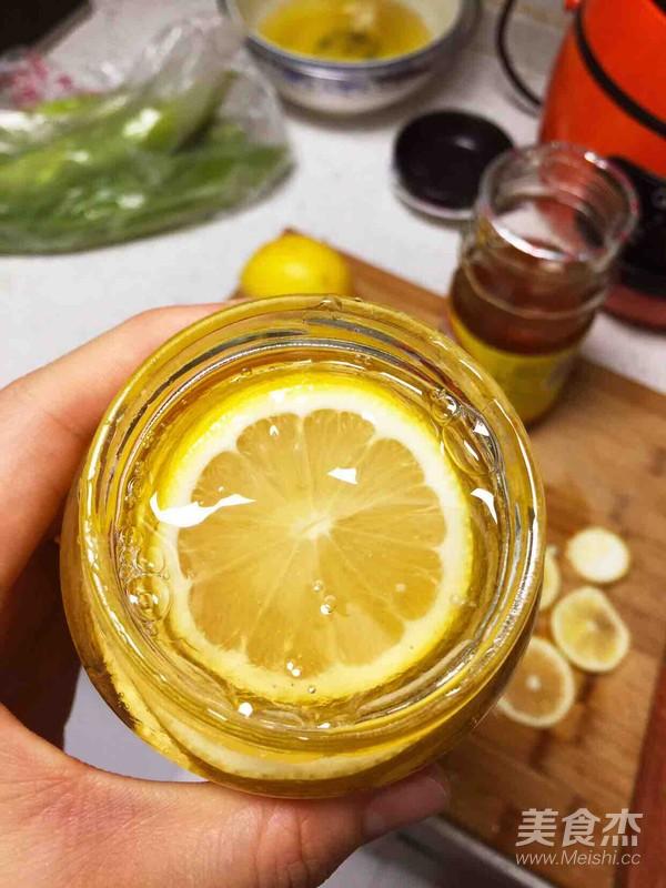 蜂蜜柠檬水的步骤