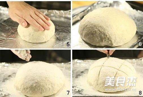 全麦粗粮面包的做法图解