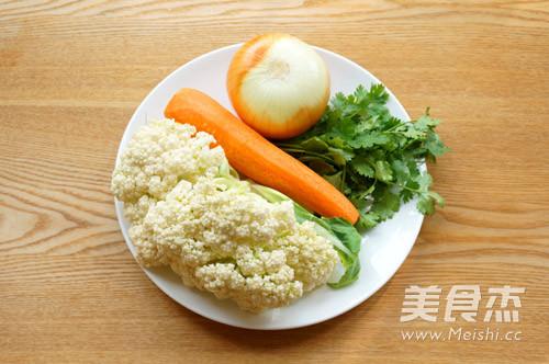 咖喱菜花炒胡萝卜的做法大全