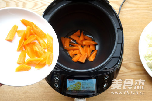 咖喱菜花炒胡萝卜怎么煮