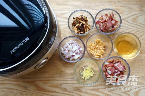 腊肠糯米饭的家常做法