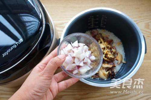 腊肠糯米饭怎么煮