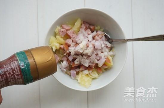 香肠烤土豆的步骤
