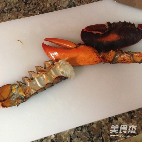 黄油龙虾的做法图解