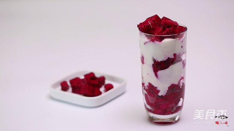 每个人的心中都有一杯水果酸奶杯的简单做法