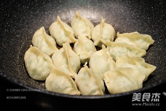 煎/煮韭菜鲜肉手工饺的制作大全