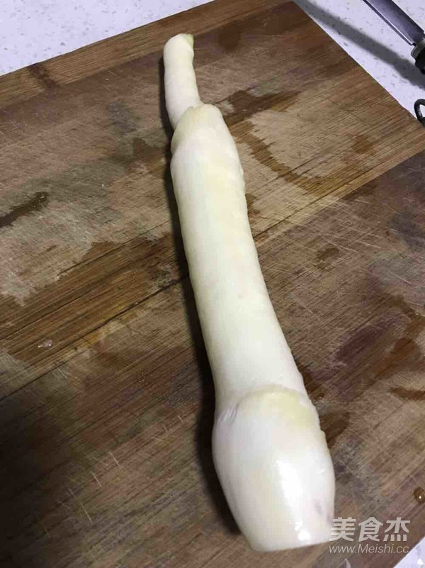 白蘑菇茭白炒豆干的做法图解