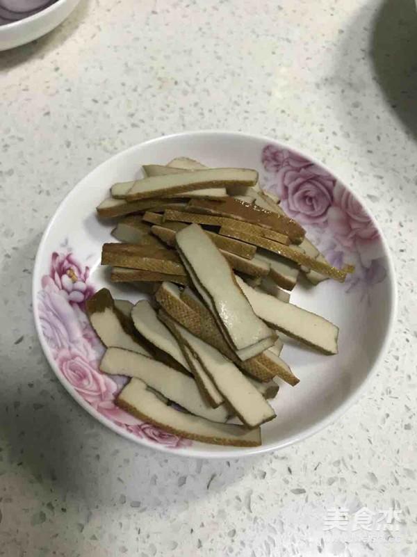 白蘑菇茭白炒豆干怎么吃