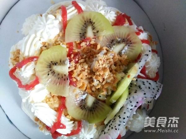 水果生日蛋糕的制作