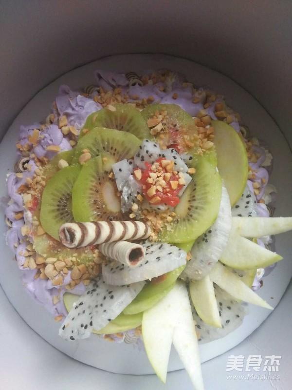 水果生日蛋糕的制作方法