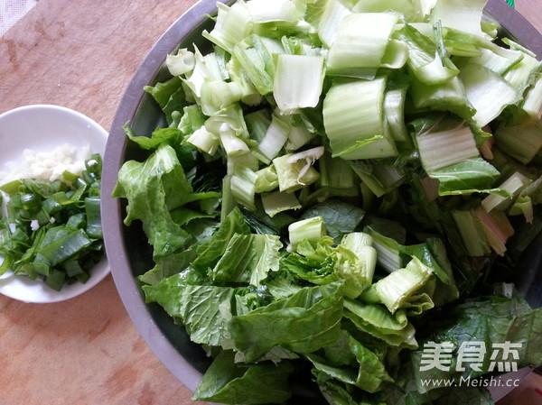 素炒小白菜的做法图解