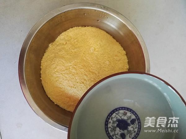 玉米面面包的做法图解