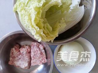 白菜猪肉包子的家常做法