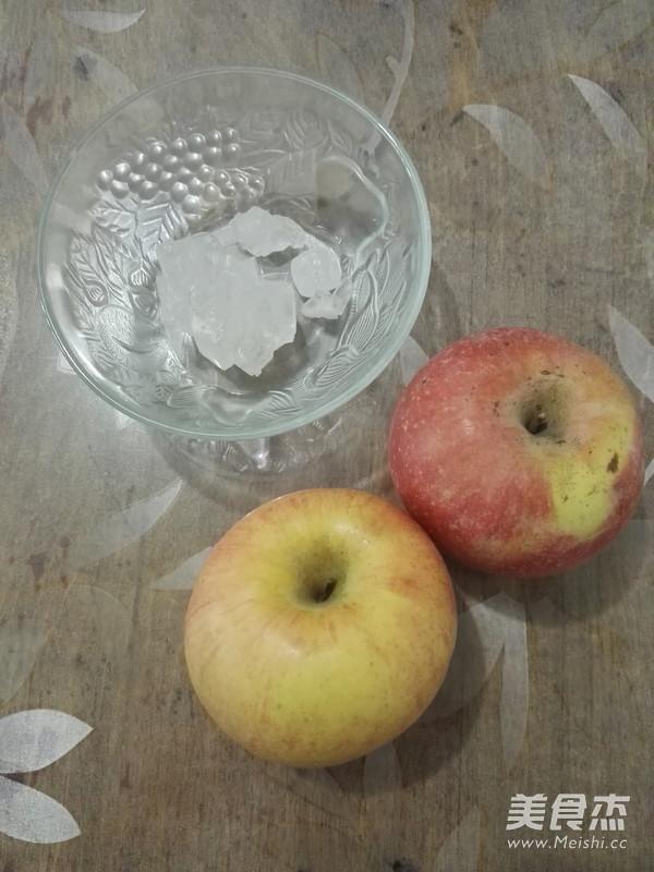 冰糖苹果的做法大全