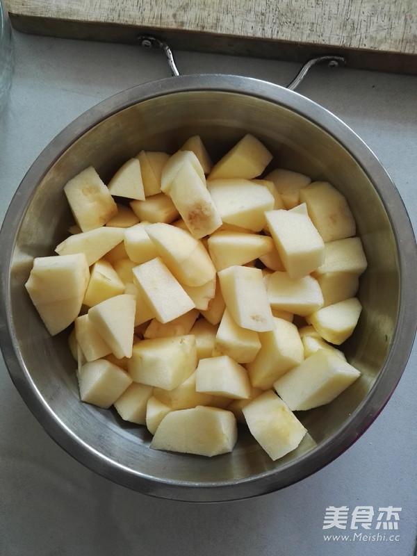 冰糖苹果的家常做法