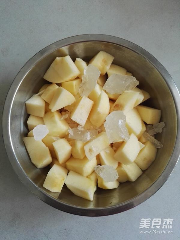 冰糖苹果怎么吃