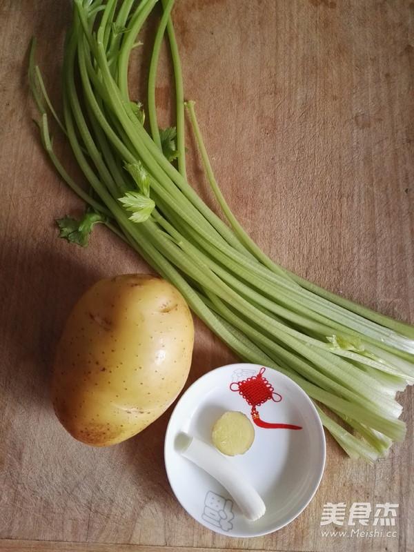 土豆丝炒芹菜的做法大全