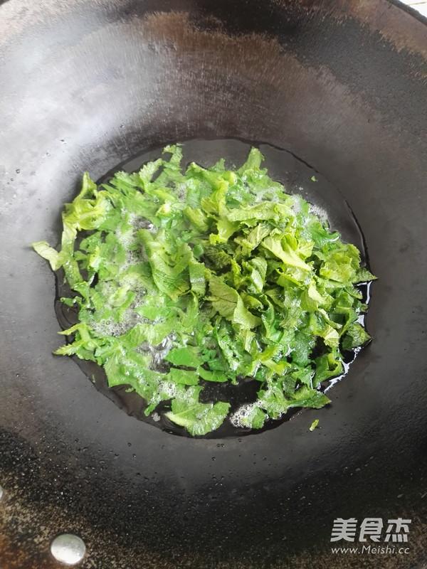 豆浆萝卜叶汤的简单做法