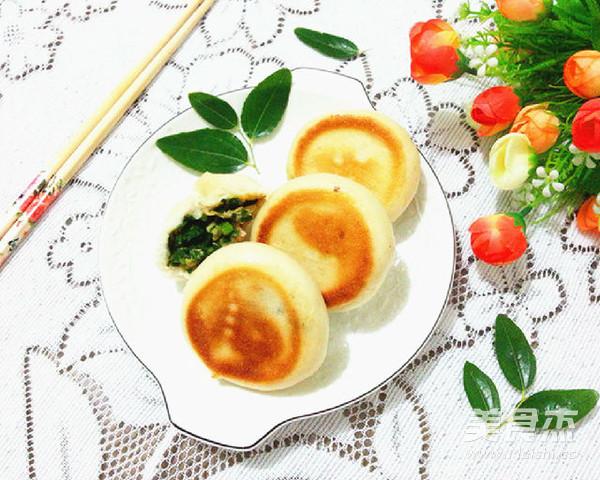 韭菜鸡蛋水煎包怎样做