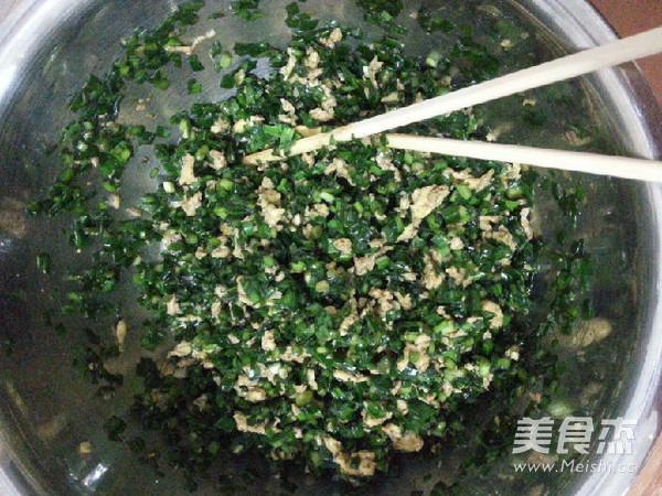 韭菜鸡蛋水煎包怎么做